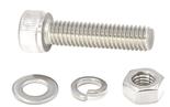 304不锈钢内六角螺栓螺丝螺母套装大全螺杆平垫弹垫组合